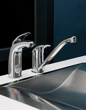 Quadra Plus tap ware options