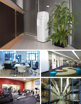 Classic water cooler suits wide variety of applications