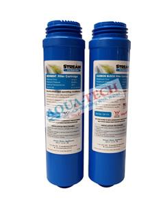 Dual Stage Sediment & Carbon Block Filter Set