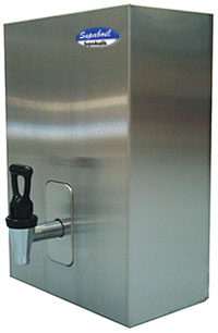Supaboil stainless on wall boiler